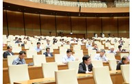 Quốc hội thảo luận trực tuyến về Dự thảo Luật Người lao động Việt Nam đi làm việc ở nước ngoài theo hợp đồng (sửa đổi)