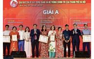 Lễ trao thưởng hai giải báo chí về xây dựng Đảng và phát triển văn hóa lần thứ III-2020