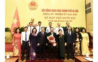 Đồng chí Chu Ngọc Anh trúng cử chức danh Chủ tịch UBND TP Hà Nội