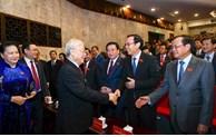 Tổng Bí thư, Chủ tịch nước Nguyễn Phú Trọng dự và chỉ đạo Đại hội Đảng bộ thành phố