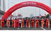 Hà Nội khởi công, khánh thành nhiều công trình lớn chào mừng Đại hội Đảng