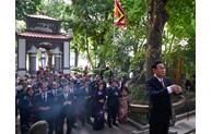 Hà Nội dâng hương tưởng niệm các vị liệt tổ, liệt tông, Chủ tịch Hồ Chí Minh và các Anh hùng liệt sĩ