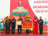 Hội Cựu TNXP TP Hà Nội đón nhận danh hiệu Anh hùng Lực lượng vũ trang nhân dân