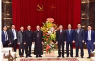 Đảng bộ TP Hà Nội đáp ứng tốt nhất những nguyện vọng chính đáng của tổ chức tôn giáo