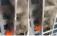 Nấu bếp ga gây cháy tại Chung cư Goldmark City