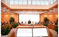 Tập thể UBND TP Hà Nội xem xét nhiều nội dung trình kỳ họp cuối năm HĐND TP
