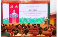 Long Biên, Hà Đông tổ chức quán triệt Nghị quyết Đại hội Đảng bộ