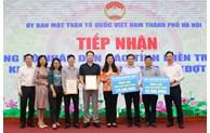Mặt trận Hà Nội tiếp nhận hơn 13 tỷ đồng ủng hộ nhân dân miền Trung