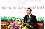 Hội nghị lần thứ 2 Ban Chấp hành Đảng bộ TP Hà Nội: Định hướng lâu dài cho cả nhiệm kỳ