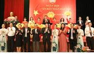 Phó Thủ tướng Thường trực Chính phủ Trương Hòa Bình dự Ngày hội Đại đoàn kết tại phường Trần Hưng Đạo