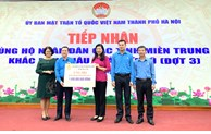 Hà Nội: Trên 59,6 tỷ đồng ủng hộ nhân dân miền Trung