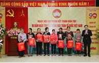 Bí thư Thành ủy Vương Đình Huệ dự Ngày hội Đại đoàn kết toàn dân tộc tại quận Tây Hồ