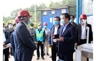 Nâng cao hơn sự chủ động trong giải quyết bức xúc dân sinh khu vực Khu liên hợp xử lý chất thải Sóc Sơn