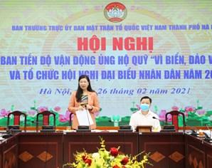 """Tiếp tục tăng cường vận động ủng hộ Quỹ """"Vì biển, đảo Việt Nam"""", phòng chống dịch COVID-19"""