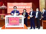 Thành ủy Hà Nội ủng hộ Quỹ ''Vì biển, đảo Việt Nam'' năm 2021