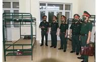Bộ Tư lệnh Thủ đô Hà Nội rà soát, kích hoạt các khu vực cách ly y tế