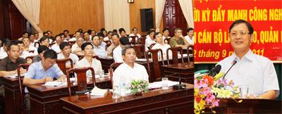 Hưng Yên: Tổng kết thực hiện Nghị quyết số 42 – NQ/TW và Nghị quyết số 11 – NQ/TW của Bộ Chính trị (khoá IX) về công tác quy hoạch cán bộ