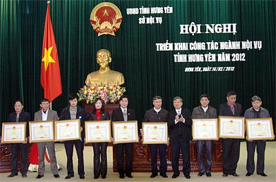 Sở Nội vụ, Ban ATGT tỉnh Hưng Yên: Triển khai nhiệm vụ năm 2012
