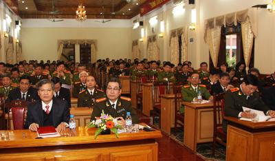 Đảng uỷ Công an tỉnh: Triển khai công tác xây dựng Đảng năm 2012