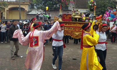 Hưng Yên: Tổ chức lễ hội Đào Nương