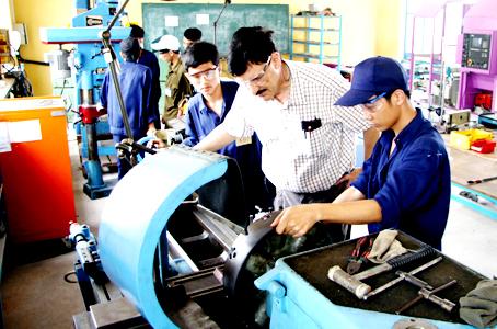 Đồng Nai: Đến năm 2020, nâng tỷ lệ lao động qua đào tạo nghề đạt 60%