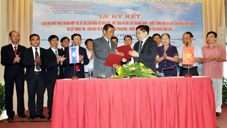 Quang Ninh, Luang Prabang sign tourism agreement