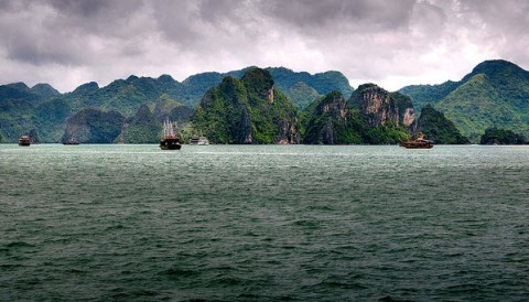 Van Don - second Ha Long bay of Vietnam