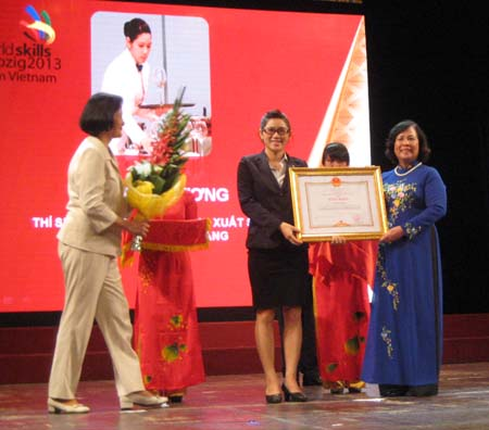 Đoàn Việt Nam đạt thành tích cao tại Kỳ thi tay nghề thế giới