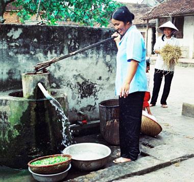 Hà Nội: Gần 92% người dân nông thôn được sử dụng nước sạch hợp vệ sinh