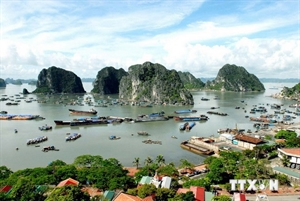 Ha Long bay enters world's 20 geological wonders