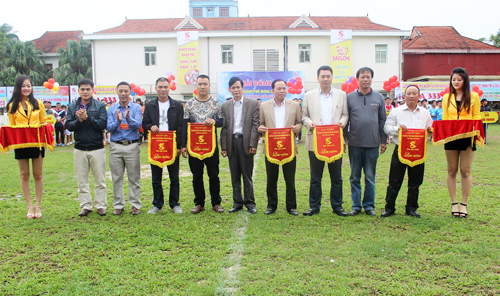 Mong Cai city football tour 2014- Sai Gon Beer Cup