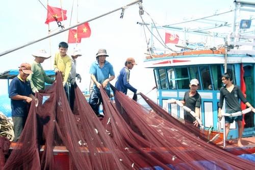 Đoàn kết, giúp nhau vươn khơi bám biển
