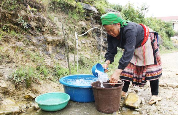 Lào Cai: Phát huy hiệu quả các công trình nước sinh hoạt