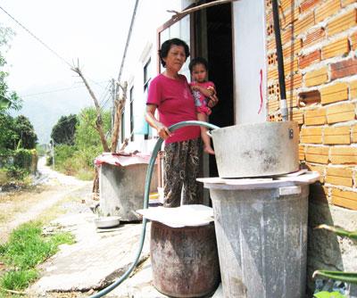 Khánh Hoà: Phấn đấu có 92% số dân nông thôn được sử dụng nước hợp vệ sinh