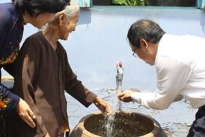 Xây dựng hệ thống cấp nước sạch cho 3 xã nông thôn tại Cần Thơ