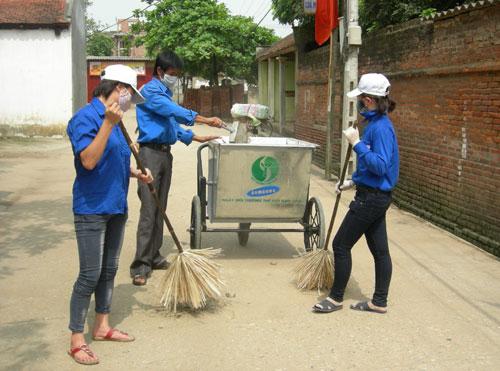 Bắc Ninh: Đầu tư xây dựng nhiều điểm tập kết rác thải sinh hoạt