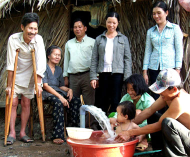 Cà Mau: Sớm hoàn thành dự án cấp nước sạch cho 6 xã nông thôn