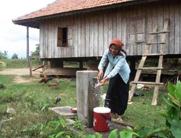 Hiệu quả chương trình nước sạch cho đồng bào thiểu số ở huyện miền núi Sông Hinh, Phú Yên