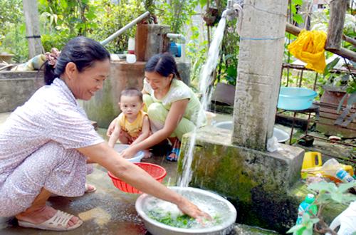 Quảng Bình: Tăng cường công tác quản lý, vận hành, khai thác công trình cấp nước tập trung nông thôn