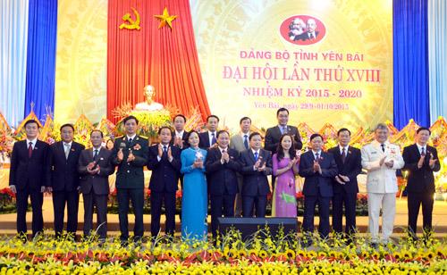 Bế mạc Đại hội đại biểu Đảng bộ tỉnh Yên Bái lần thứ XVIII
