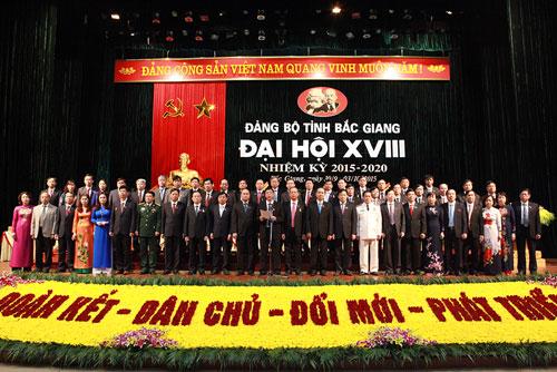 Phấn đấu đưa Bắc Giang phát triển nhanh, toàn diện, vững chắc