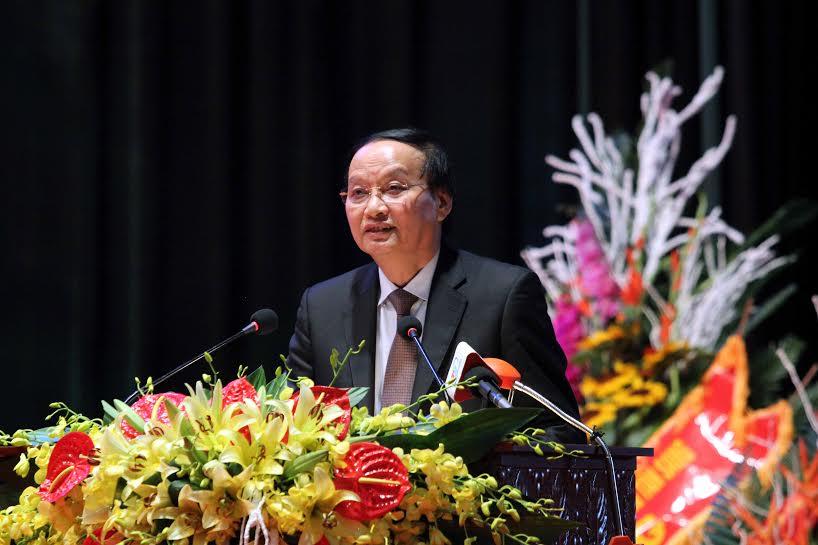 Khai mạc Đại hội đại biểu Đảng bộ tỉnh Thái Nguyên lần thứ XIX, nhiệm kỳ 2015 - 2020