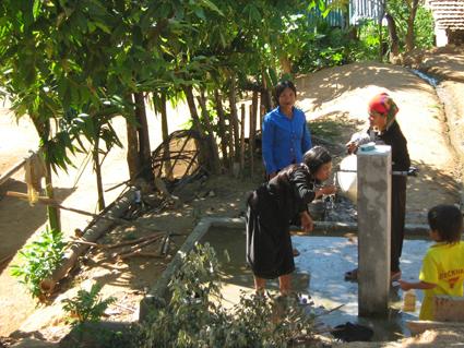 Quảng Ngãi: Phấn đấu 85% dân số nông thôn được dùng nước hợp vệ sinh
