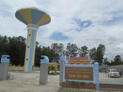 Khánh Hòa: Phát huy hiệu quả các công trình nước sạch