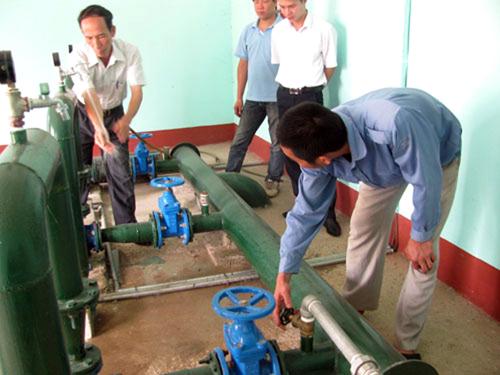 Phú Thọ: Sẽ có 92% dân số nông thôn được sử dụng nước sạch hợp vệ sinh