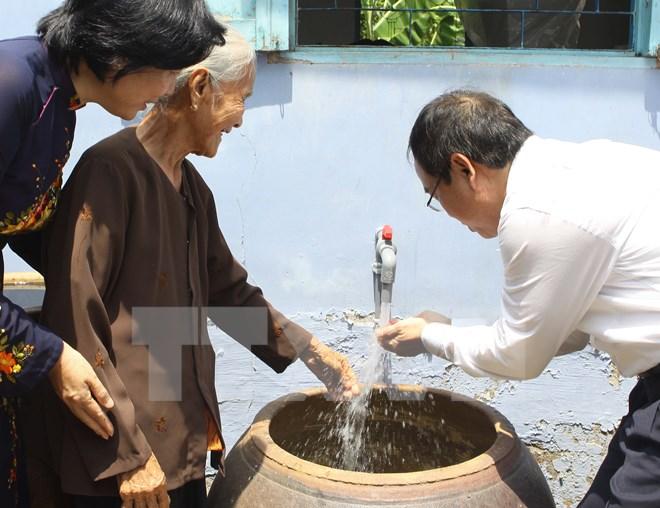 Thành phố Hồ Chí Minh: Phấn đấu đến năm 2018 cấp đủ nước sạch cho vùng nông thôn ngoại thành