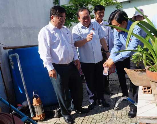 Huyện Củ Chi: 100% dân số sẽ được sử dụng nước sạch hợp vệ sinh vào năm 2020