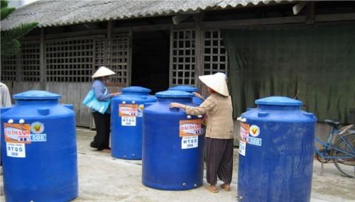 Bến Tre: Đưa nước sạch về nông thôn