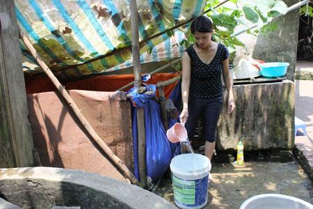 Hà Nội: Gần 34% dân số nông thôn được sử dụng nước sạch
