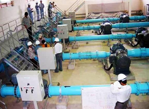 Bổ sung công suất nước thô cho Nhà máy nước Bắc Thăng Long - Vân Trì